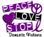 peacelovestop domestic violence
